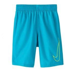 "Nike Swim Swoosh Solid Lap 8"" Volley Short Medium"